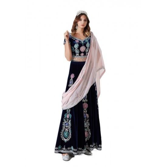2li Hint Modeli Bindallı Kına Elbisesi Armin ceyizalisverisi.com